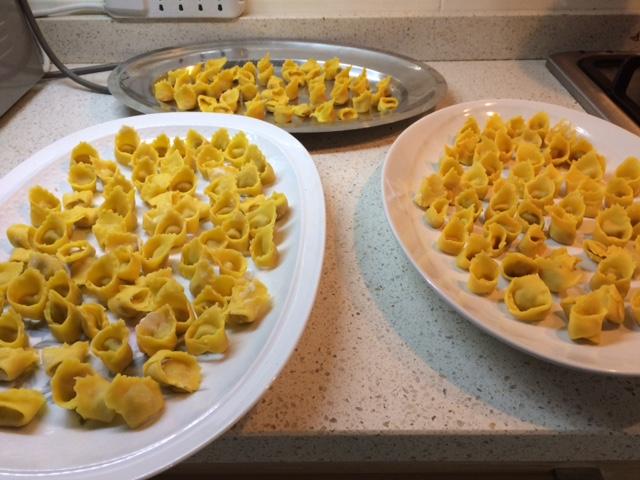 Ricetta per fare la pasta dei tortellini